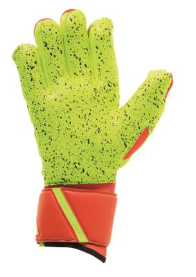 uhlsport DYNAMIC IMPULSE SUPERGRIP HN TW-Handschuh orange-gelb – Bild 2