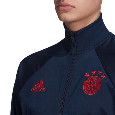 adidas FC BAYERN MÜNCHEN ICONS Jacke Herren blau – Bild 2