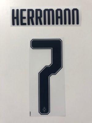 Original Borussia Mönchengladbach Trikot-Flock - HERRMANN 7