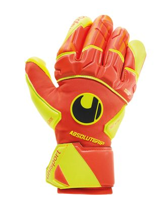 uhlsport DYNAMIC IMPULSE ABSOLUTGRIP REFLEX TW-Handschuh orange-gelb – Bild 1