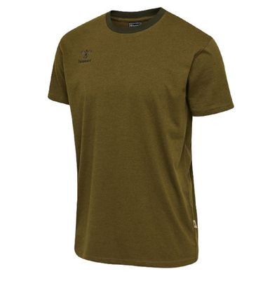 hummel hmlMOVE T-Shirt Herren dunkelgrün