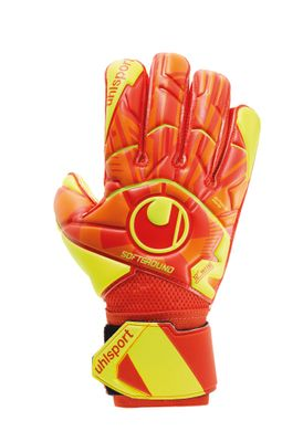 uhlsport DYNAMIC IMPULSE SOFT FLEX FRAME TW-Handschuh orange-gelb – Bild 1