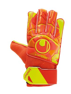 uhlsport DYNAMIC IMPULSE STARTER SOFT TW-Handschuh orange-gelb – Bild 1