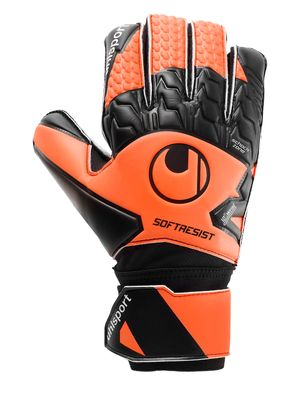 uhlsport SOFT RESIST TW-Handschuh schwarz-orange – Bild 1