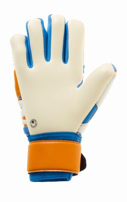 uhlsport ABSOLUTGRIP HN PRO Junior TW-Handschuh blau-orange-weiß – Bild 2