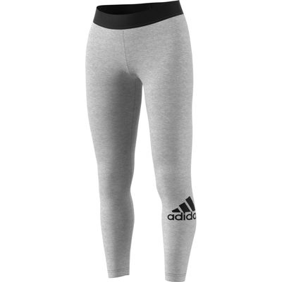 adidas MUST HAVES BADGE OF SPORT TIGHT Frauen grau-schwarz – Bild 1
