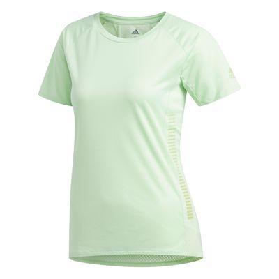 adidas 25/7 RUN T-Shirt Frauen hellgrün – Bild 1