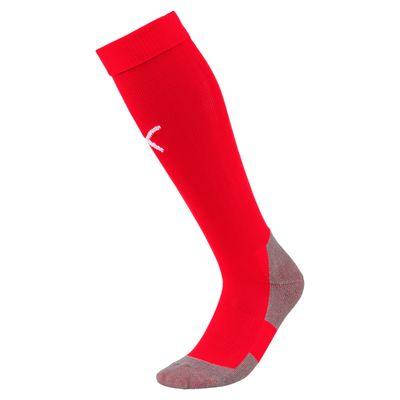 puma Team Liga Socken-Stutzen rot