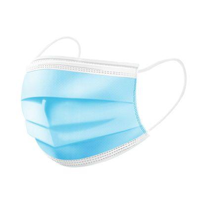 50 x Einwegmaske mit Gummizug - 3-lagig / Mundschutz / Atemschutzmaske / OP-Maske – Bild 2