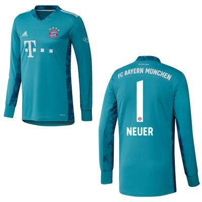 adidas FC BAYERN MÜNCHEN Trikot Torwart Kinder 2020 / 2021 – Bild 3