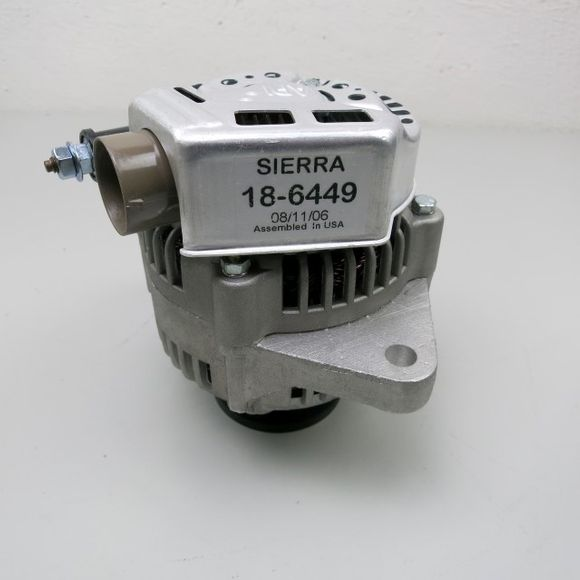 Sierra Lichtmaschine 12 V 50 A 18-6449 Alternator Mercury Marine