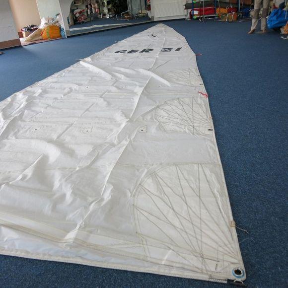 Gebrauchtes 23 m² Großsegel VL=11,9 UL=3,3 KBB=115mm Nordborg 30 – Bild 2