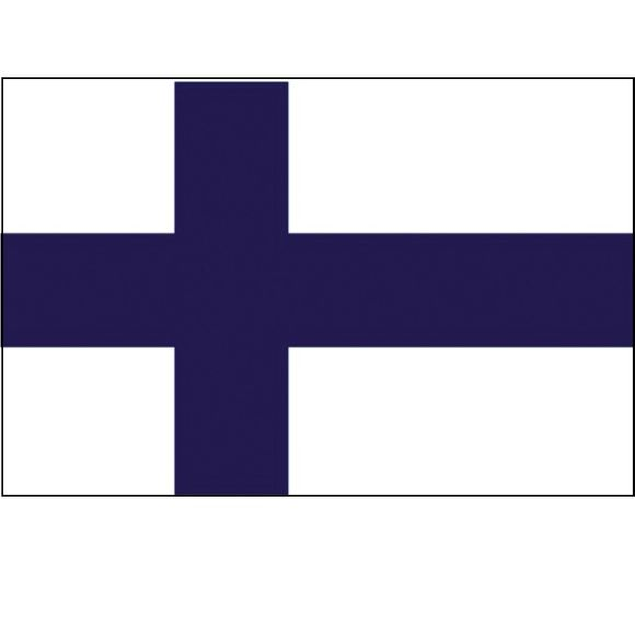 Flagge Finnland 20 x 30 cm Polyester Flag Finland Bootsflagge – Bild 1