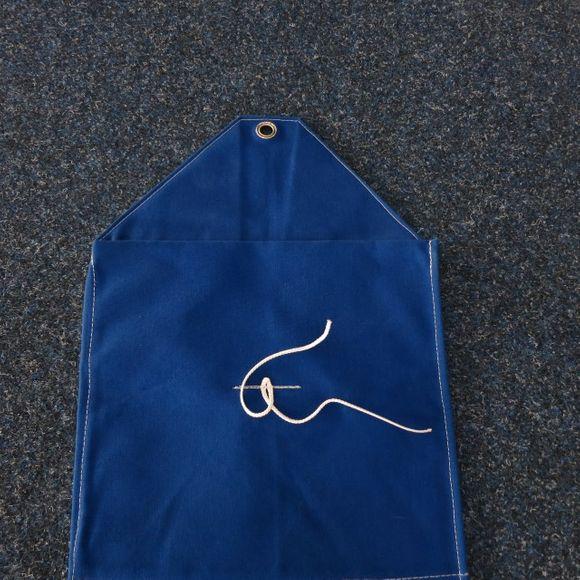 Unbenutzte Riggtasche Masttasche L=3,65 B=0,31 blau atmungsaktiv – Bild 2