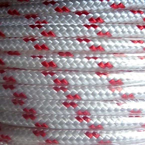 6mm Tauwerk Usacord Turbo Polyester Fall Schot Leine 1000 daN