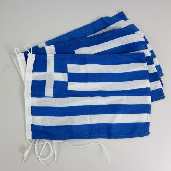 3x Flagge Griechenland 20 x 30 cm Polyester 20129FG Greece