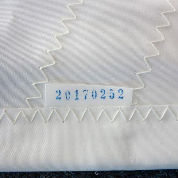Großsegel Segel 11m² VL=7,25 UL=2,59 Condor 70 Mastrutscher – Bild 8
