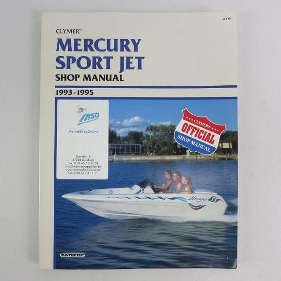 Clymer Mercury Sport Jet Manual 1993-1995 W815 95 Engl – Bild 1