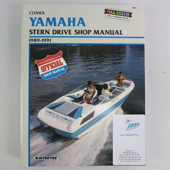 Yamaha Stern Drive Manual 1989-1991 B787 Werkstattbuch Reparatur – Bild 1