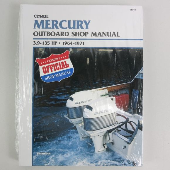 Clymer Mercury Manual 3.9-135PS 1964-1971 B719 Engl – Bild 1