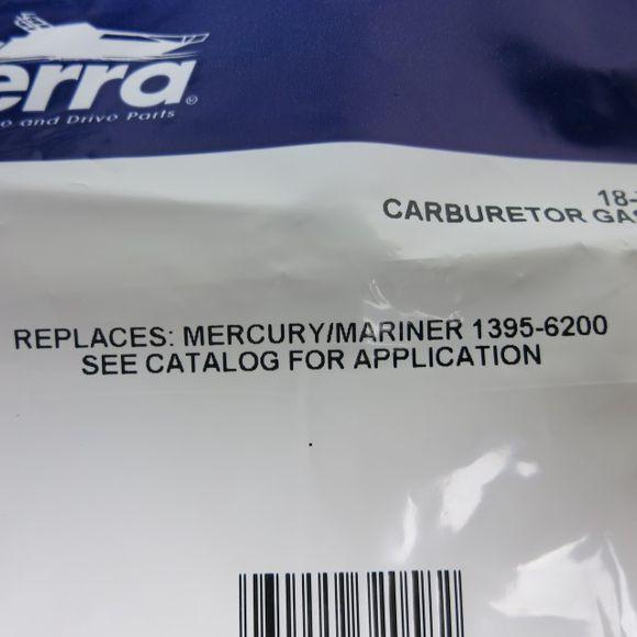 2 x Sierra Vergaser Dichtung Kit 18-7004 Mercury 1395-6200 – Bild 2