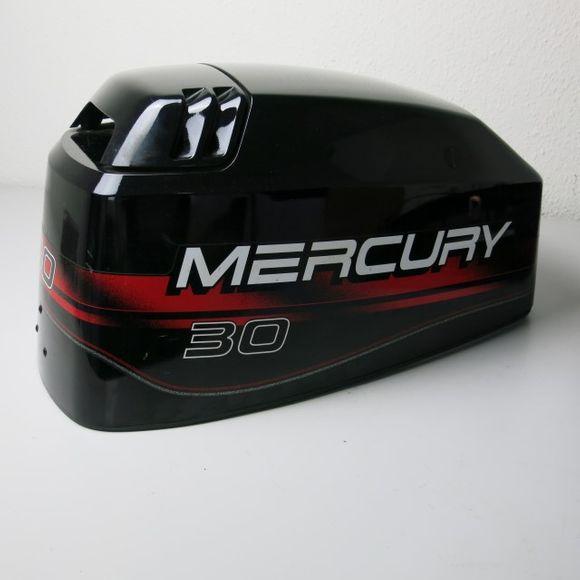 Mercury Motor Cowl 30 hp 40 hp Motorhaube Aussenborder Abdeckung – Bild 4
