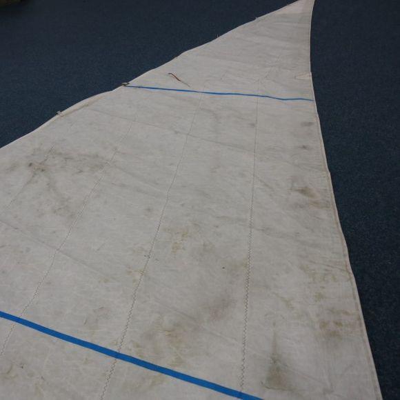 Gebrauchte defekte 15,6 m² Genua VL=7,72 UL=4,20 biradial Fritz – Bild 9
