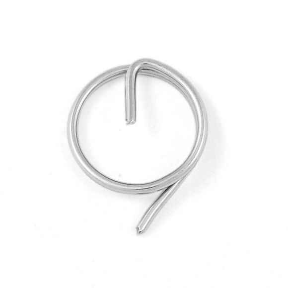 100x Edelstahl A4 Ringsplinte Ø 1-2mm Sicherungsringe Stecksplint – Bild 1