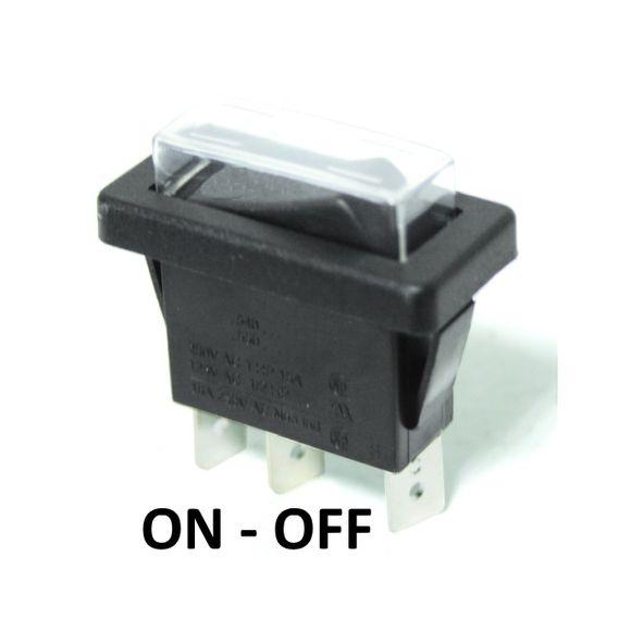 12/24V Wippschalter Einbauschalter Wasserdicht Schalter Boot  – Bild 2