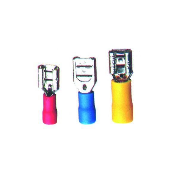 Set Flachsteckhülsen isoliert Kabelschuh Steckverbinder 0,25-6mm²