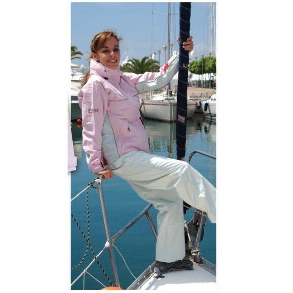 Inshore Damen Segeljacke Free Sail FS hellblau/weiß S-XXL 10000mm – Bild 5