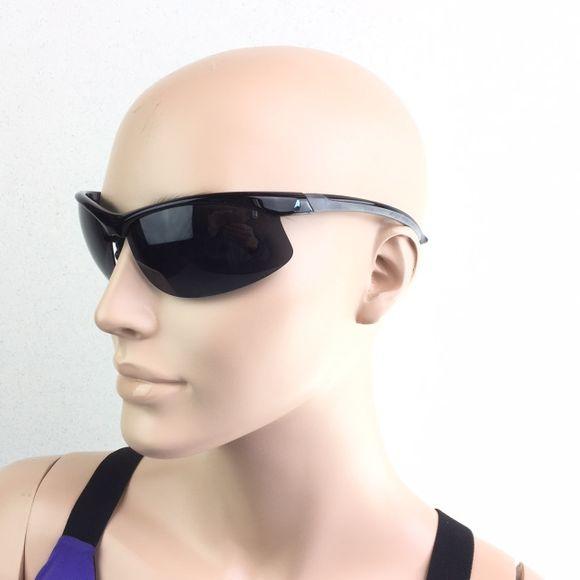 Sonnenbrille Halbrand 1mm polarisiert TR90 schwarz Segeln Yacht – Bild 1