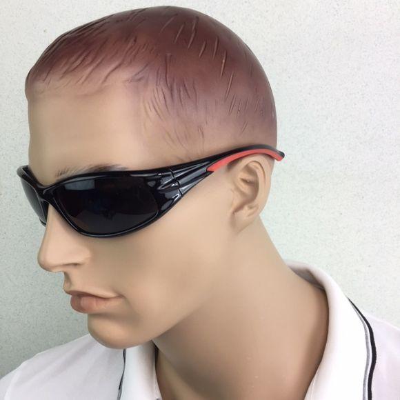 Sonnenbrille Vollrand 1mm polarisiert TR90 schwarz Segeln Yacht – Bild 3