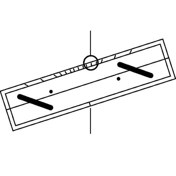 Parallel Lineal Navigationsbesteck 2 Größen Messinggriff Boot – Bild 2
