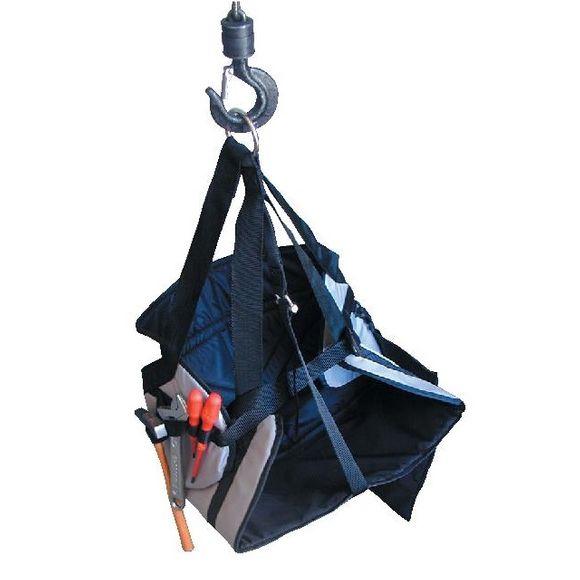 Profi Bootsmannstuhl blau Nylon Werkzeugtasche Takelage Marine – Bild 1