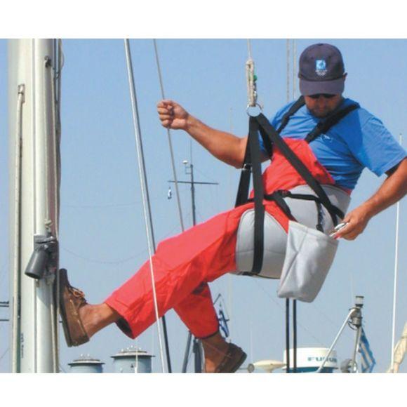 Profi Bootsmannstuhl blau Nylon Werkzeugtasche Takelage Marine – Bild 2
