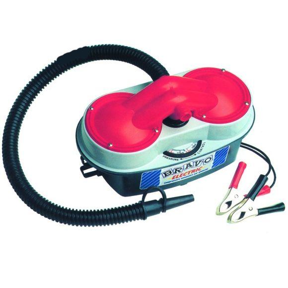 12V automatische Luftpumpe 300mbar 150 l/min für Schlauchboote