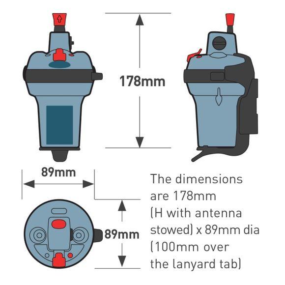 Ocean Signal Notsender EPIRB1 Funkbake Emergency Transmitter – Bild 7