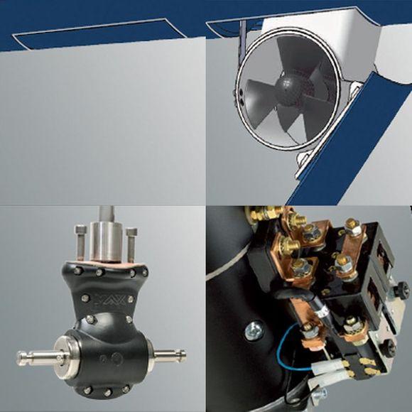 12/24V versenkbares Bugstrahlruder COMPACT RETRACT Boote 35'-50' – Bild 3