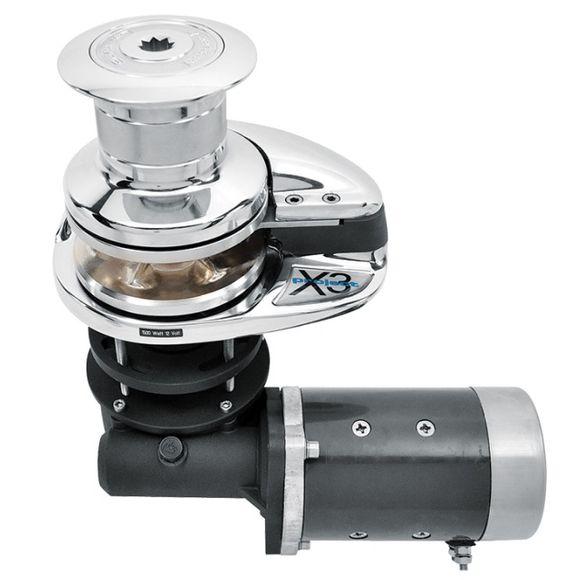 12V Lofrans X3 Ankerwinde 1500W - 1700W mit Spill 10mm ISO 4565 – Bild 1