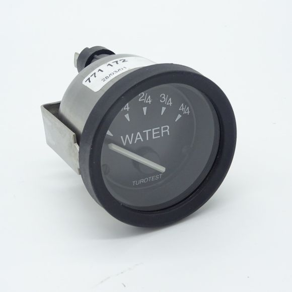 phillipi Turotest Analoganzeige Water 52mm TGW Messinstrument Wasser – Bild 1