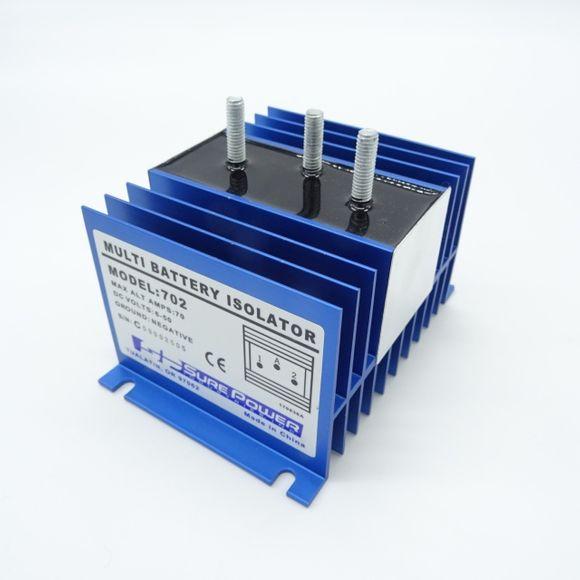 Sure Power Model 702 Multi Batterie Isolator 70A Ladestromverteiler – Bild 1