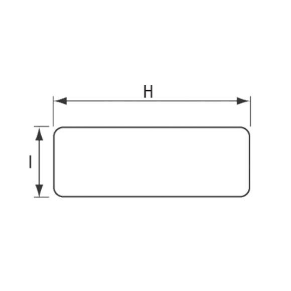 Gehäuse für Kleinteile Schotmontage Getränkehalter 266x561x125mm – Bild 7