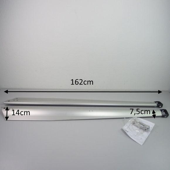 Selden Set profilierte Salinge 2x Salingarme 162cm Aluminium Bavaria – Bild 2