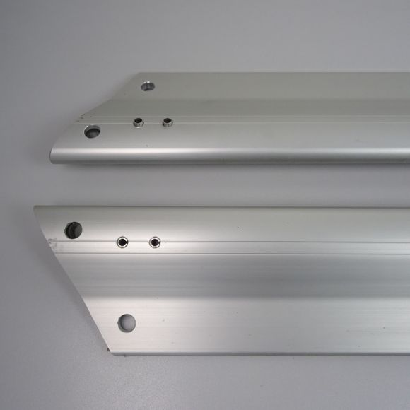 Selden Set profilierte Salinge 2x Salingarme 162cm Aluminium Bavaria – Bild 3