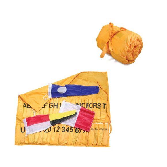 Internationales Flaggen Alphabet ABC 40 Stück im Rollsack