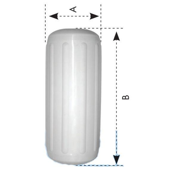 Verstärkter Fender Taudurchlass Langfender div. Größen RT Serie – Bild 3
