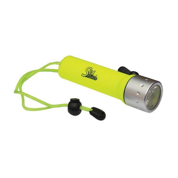 Sea Power Taucherlampe Taschenlampe LED 4AA wasserdicht bis 10m