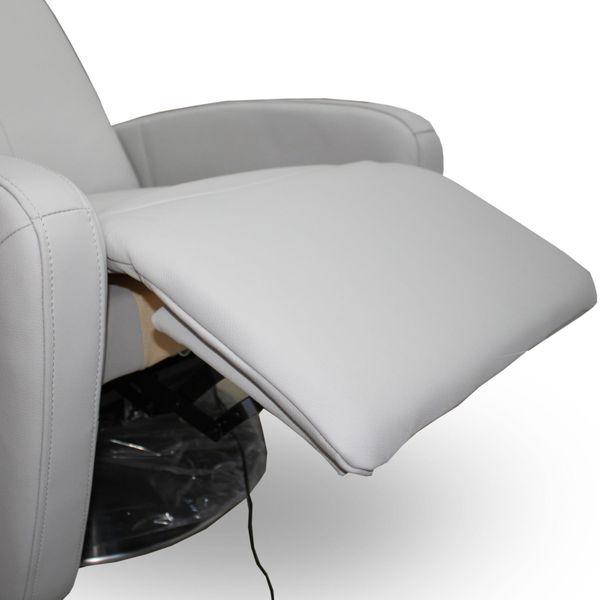 Relaxsessel Ledersessel Luxurior Grau – Bild 5