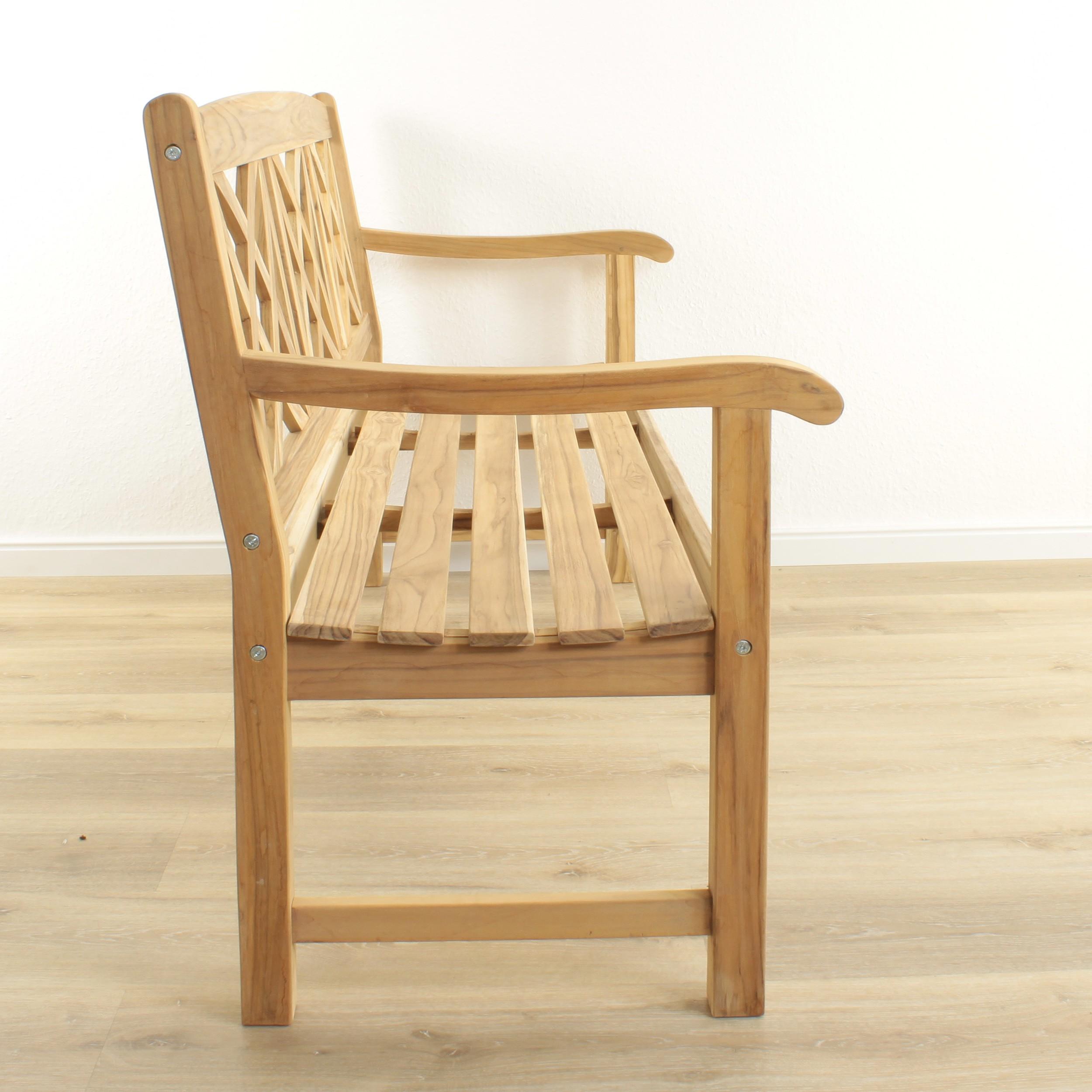 teakholz gartenbank bench 3 sitzer. Black Bedroom Furniture Sets. Home Design Ideas